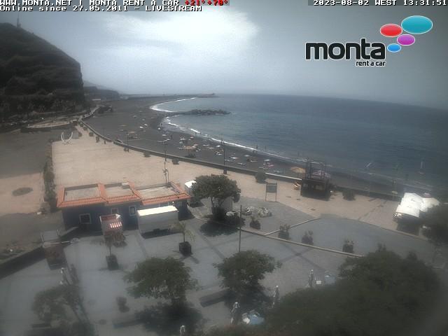 La Palma Webcam Tazacorte kurzfristig nicht erreichbar