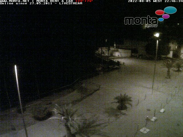 Webcam Puerto Naos La Palma