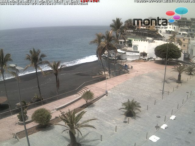 La Palma Puerto Naos Webcam 1